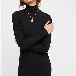 FP Beach Charlie Black Mini Dress